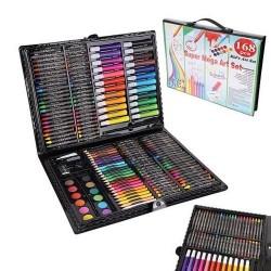 ISO Trade 9176 Výtvarná sada Mega Art Set 168 ks čierna
