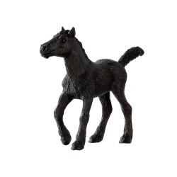 Bullyland kone - Frízske žriebä figúrka