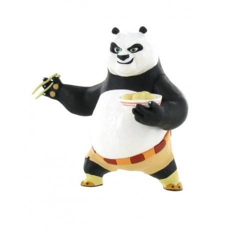 Comansi Kung Fu Panda - Po panda s miskou s jedlom rozprávková figúrka