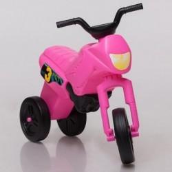ENDURO Detské odrážadlo - motorka malá - ružová