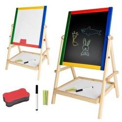 Kruzzel 8905 Multifunkčná obojstranná tabuľa pre deti