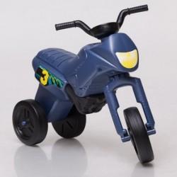 ENDURO Detské odrážadlo - motorka malá - oceľovo-modrá