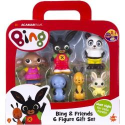 ACAMAR Films BING - Bing a jeho kamaráti rozprávkové figúrky 6-dielny set