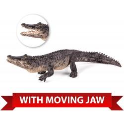 Animal Planet 387168 Aligátor s pohyblivou čeľusťou figúrka