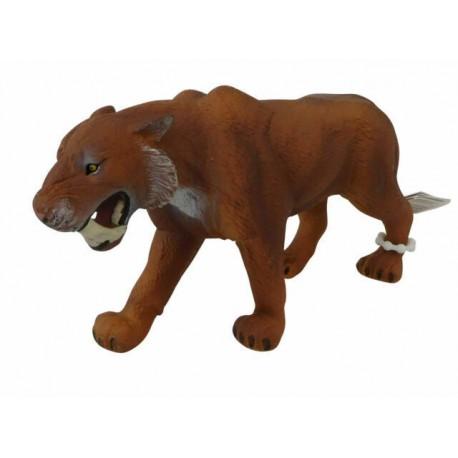 Animal Planet 387048 Smilodon hnedý