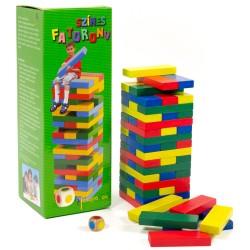 Fakopancs detská drevená skladačka Jenga