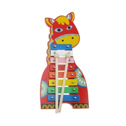 Detský farebný xylofón Koník