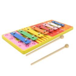 Detský farebný xylofón - oranžový