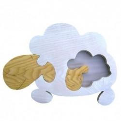 Detské nástenné svietidlo - ovečka