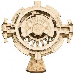 ROKR Drevený mechanický model - Kalendár