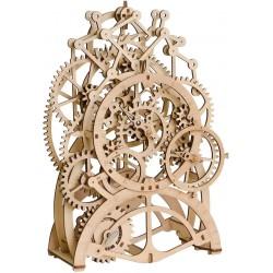 ROKR Drevený mechanický model - Kyvadlové hodiny LK501