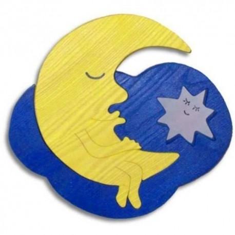Detské nástenné svietidlo - mesiačik