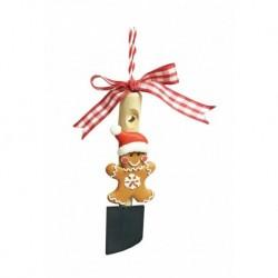 Vianočná dekorácia - medovník s vločkou na vareške 141856