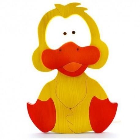 Detské nástenné svietidlo - kačka