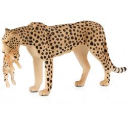 Animal Planet 387167 Gepard s mláďaťom figúrka