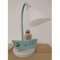Detská stolná lampa - loďka