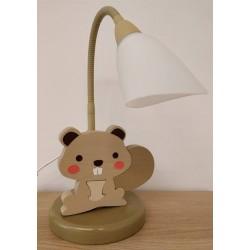 Detská stolná lampa - bobor