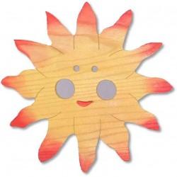 Detské nástenné svietidlo - slniečko