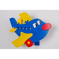 Detské nástenné svietidlo - lietadlo