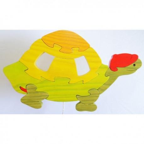 Detské nástenné svietidlo - korytnačka oranžová