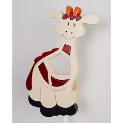 Detské nástenné svietidlo - žirafa