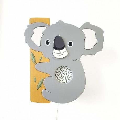 Detské nástenné svietidlo - koala