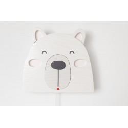 Detské nástenné svietidlo - ľadový medveď