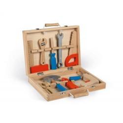 Janod Detské drevené náradie v kufríku BricoKids J06481