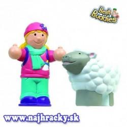 WOW Figúrky - Dievčatko a ovečka