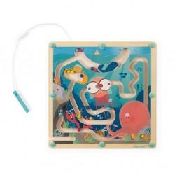 Janod Magnetický labyrint s perom Život v oceáne