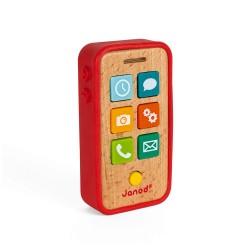 Janod Detský drevený mobil so zvukmi J05334