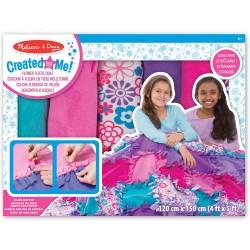 Melissa & Doug Výroba flisovej deky