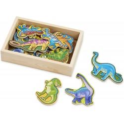 Melissa & Doug Drevené magnetky Dinosaury 20 ks