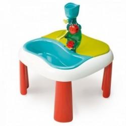 SMOBY Detský stôl Voda&Piesok 2v1