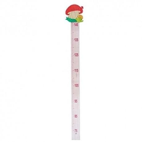 Detský drevený meter - červený