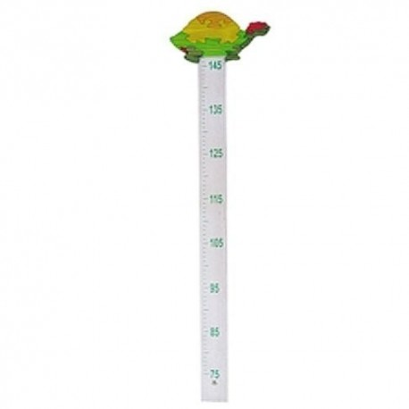 Detský drevený meter - zelený