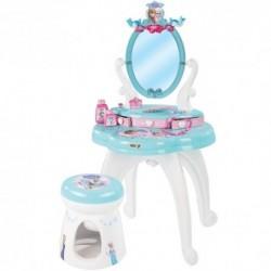 SMOBY Detský toaletný stolík Frozen so stoličkou