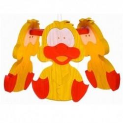 Detská stropná lampa 3-ramenná - kačka