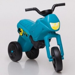 Enduro MotoKidZ Detské odrážadlo - motorka MINI - tyrkysová