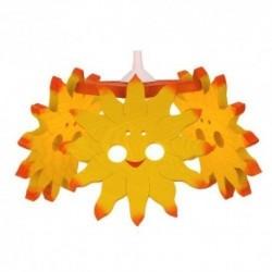 Detská stropná lampa 3-ramenná - slniečko
