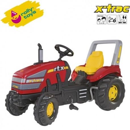 Rolly Toys Detský šlapací traktor X-Trac s prevodovkou a brzdou