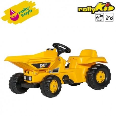 Rolly Toys Detský šlapací traktor Kid Dumper CAT