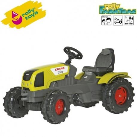 Rolly Toys Detský šlapací traktor FarmTrac Claas Axos 340