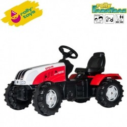 Rolly Toys Detský šlapací traktor FarmTrac Steyr CVT 6230