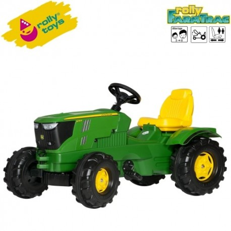 Rolly Toys Detský šlapací traktor FarmTrac John Deere 6210R