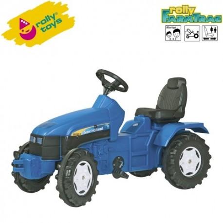 Rolly Toys Detský šlapací traktor FarmTrac New Holland TD 5050