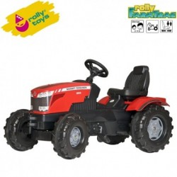 Rolly Toys Detský šlapací traktor FarmTrac Massey Ferguson 8650