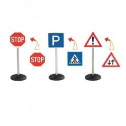 BIG Detské dopravné značky 3 kusy v sete