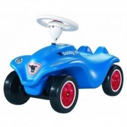 BIG Detské odrážadlo New Bobby auto so zvukom modro-červené
