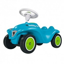 BIG Detské odrážadlo New Bobby RB3 auto so zvukom modro-zelené